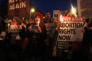 A march for changes in abortion law in Dublin in 2012. Credit Peter Muhly/Agence France-Presse — Getty Images