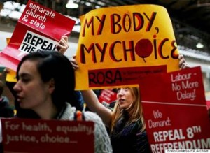 Women in Northern Irelandrepealing the 8th amendment of abortion law